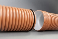 Гофрированная канализационная труба Икапласт SN 16 630x542 мм