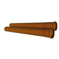 Труба канализационная ПВХ 160x4,0x1000 мм