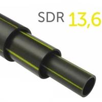 Труба полиэтиленовая ПНД газовая ПЭ-100 SDR 13,6 140x10,3 мм